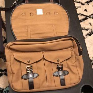 Filson Bags - Filson medium-sized twill field bag.